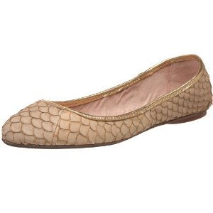 For daywear, I like the texture of both these Steve Madden snakeskin-styled  flats ( 139, Endless) and these Tory Burch Revas ( 231, Shirise)  b870c85e43bd